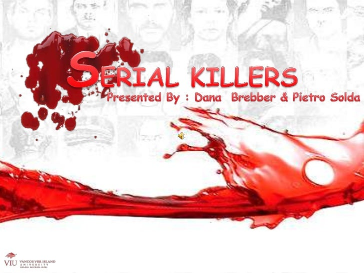 serial killers psychology presentation, Modern powerpoint