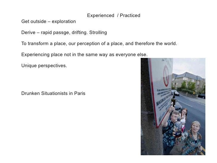 Psychogeography at geekup leeds Slide 3