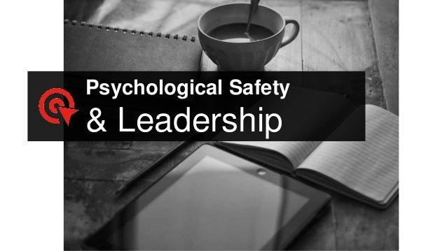 Psychological Safety & Leadership
