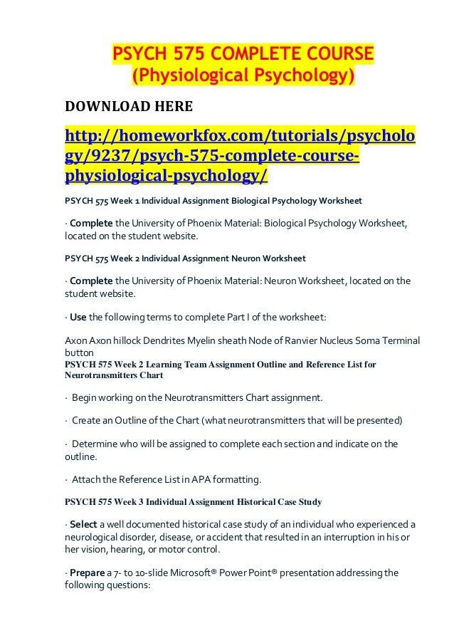 Forensic Psychology Major Resources