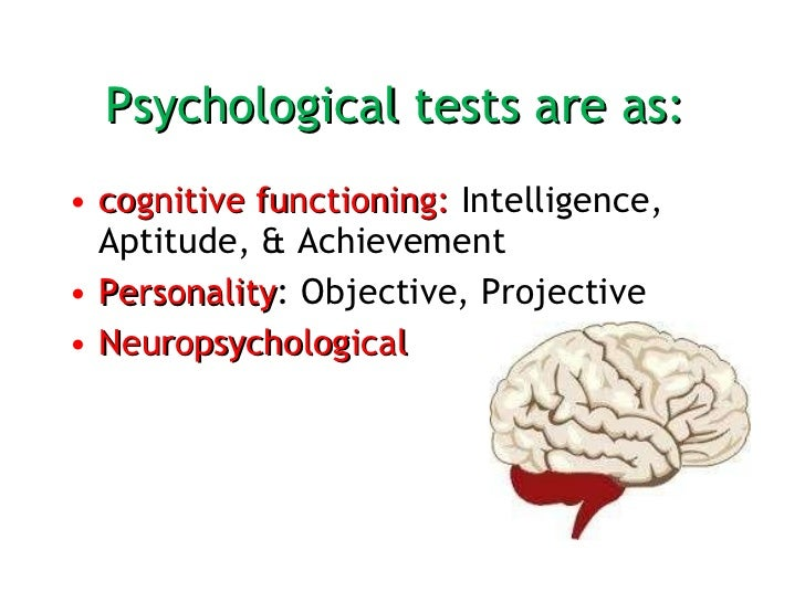 Psychometric Assessment  Slide 3