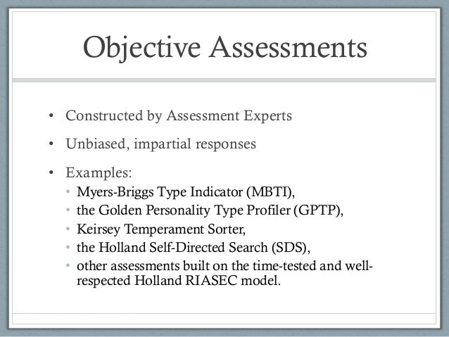 Assessments in Career Counseling – Career Assessment Template