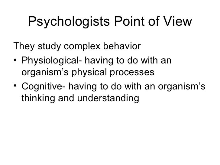Psychology Chapter 1