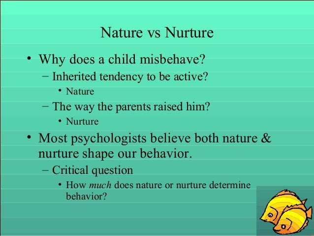 Why Is Nature Vs Nurture Important