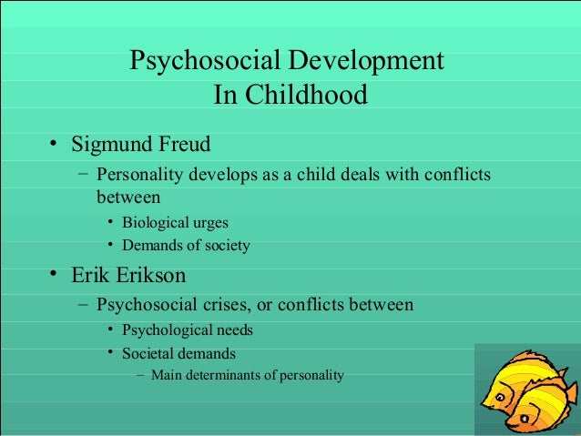 psychosocial crises that shape personality The basic premise of erikson's stages of psychosocial development is that the personality and course of development of a person depend on how certain psychosocial crises were resolved earlier in life.