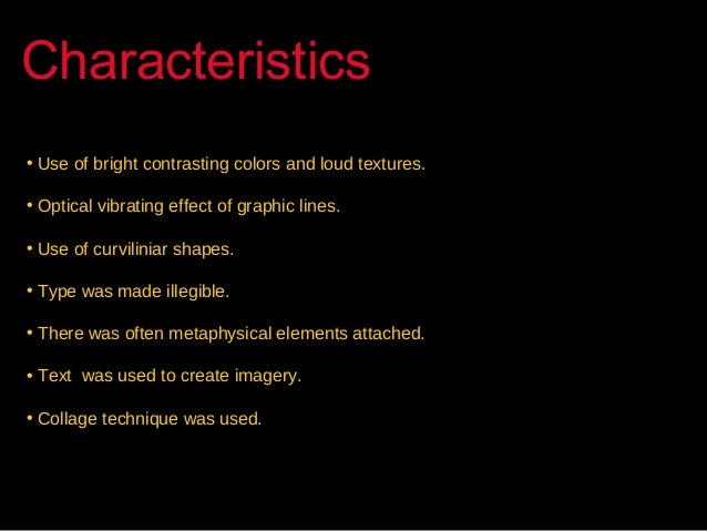 Characteristics Of Line In Art : Psychedelic art movement