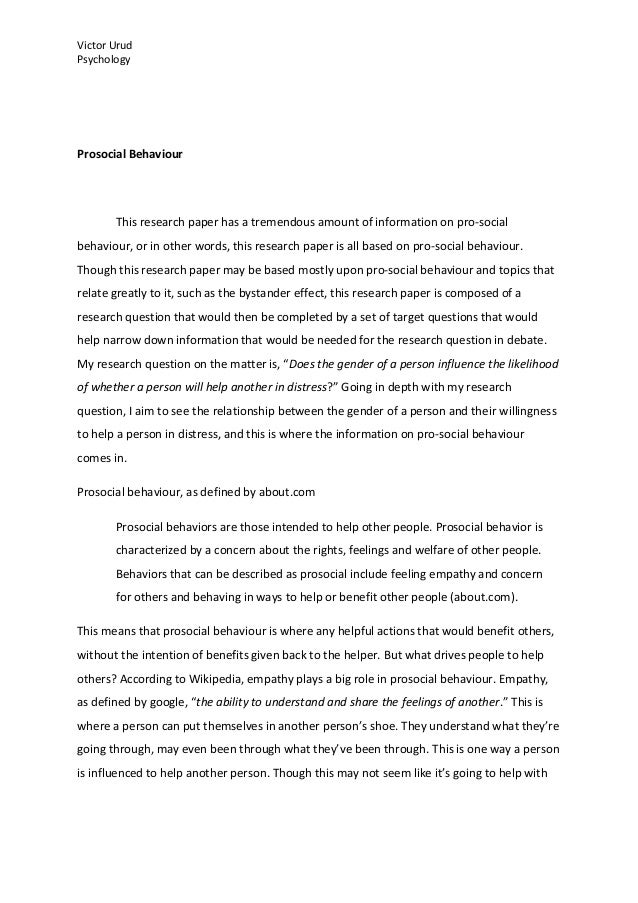 How To Write A Thesis Statement For A Essay Resumes Cover Letters The Essay Expert Psychology Of Gender  How To Write A Proposal For An Essay also Argumentative Essay Examples For High School Psychology Topics For Essays  Barcafontanacountryinncom Professional Ghostwriter