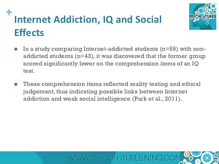addiction to internet essay The internet has created a generation of addicts who have an intense need for  new information, to communicate by e-mail, to chat with cyberfriends, to play.