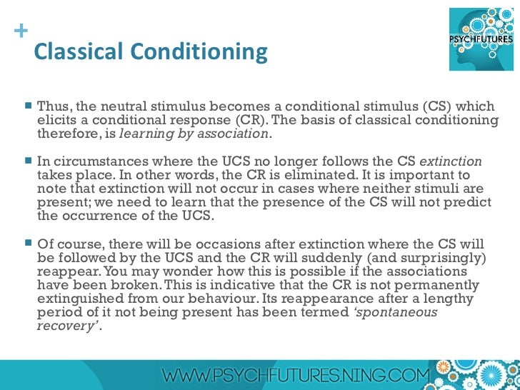 why is conditioning important in psychology