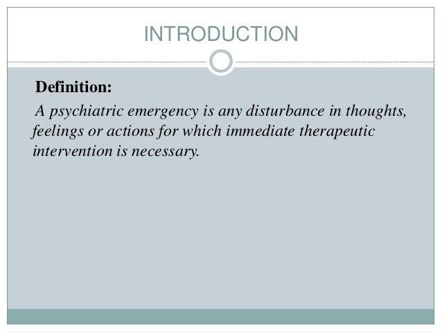Psychiatric emegencies in children Slide 2