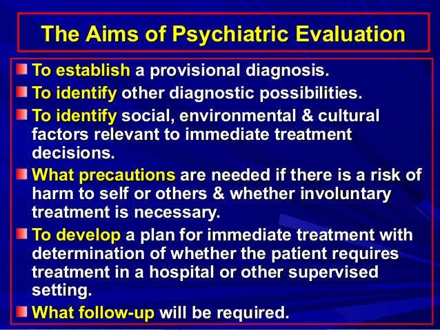 psychiatric mse 2008-11-16 this module contains an interactive, web-based, multimedia tour through the psychiatric mental status exam (mse) that is intended for use as a self-study module in preparation for seeing patients in a clinical psychiatric setting.