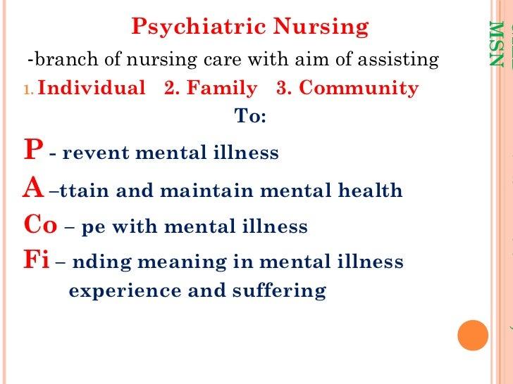 Psychiatric nursing lec sir g Slide 3