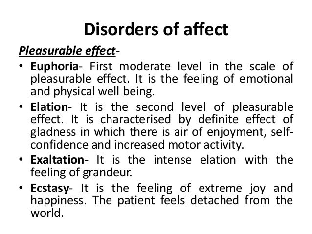 Psychiatric terminologies