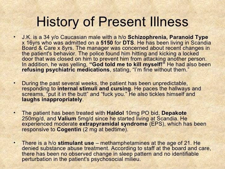 undifferentiated schizophrenia case study scribd