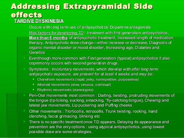 Compazine Side Effects Extrapyramidal