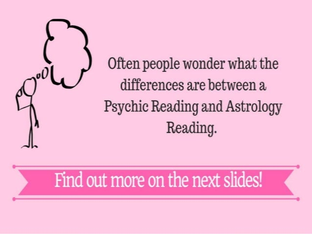 Psychic Reading and Astrology Reading! Which one is for you? - 웹