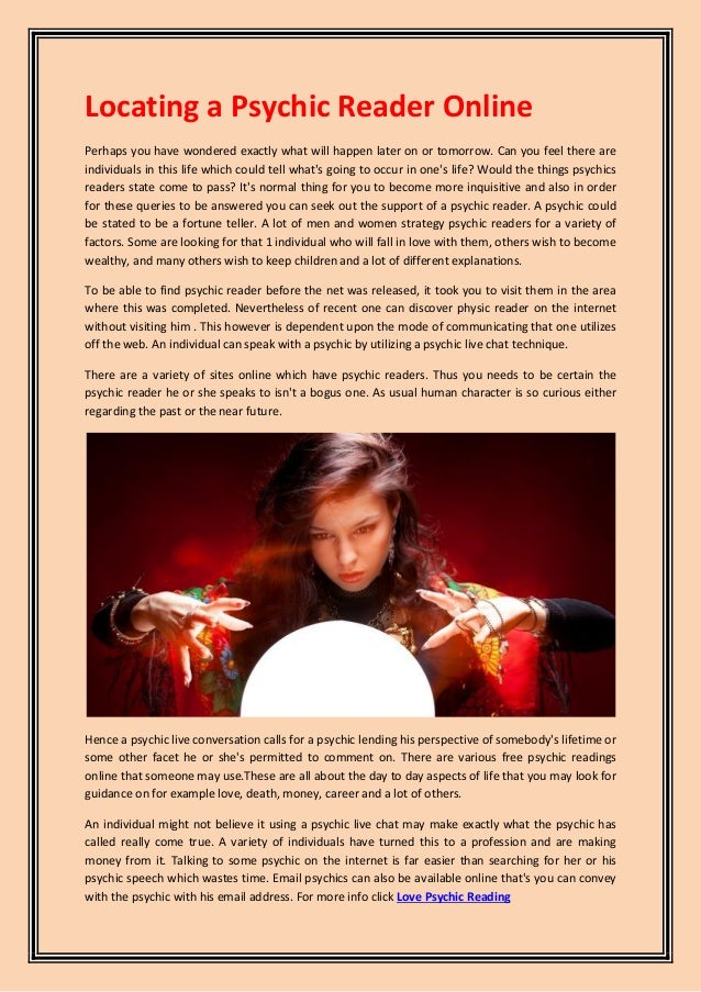 Psychic Reading Online