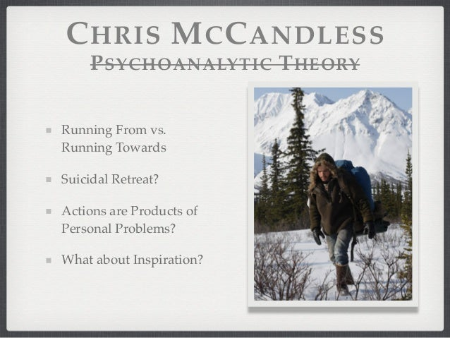 an analysis of into the wind by chris mccandless Detailed descriptions and analysis of into the wild by back into the us with no id mccandless was able to spring himself chris mccandless.