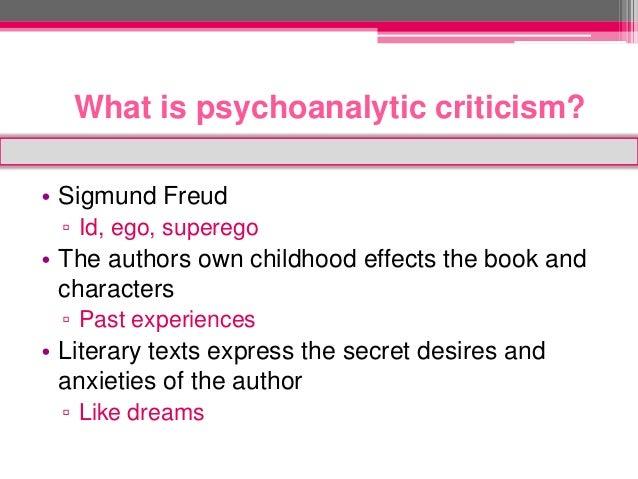 reader-response psychoanalytic criticism essay