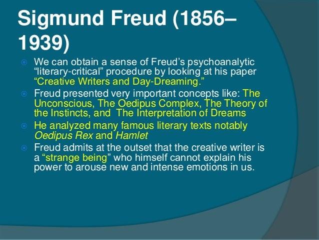 Creative writers and daydreaming by sigmund freud essay