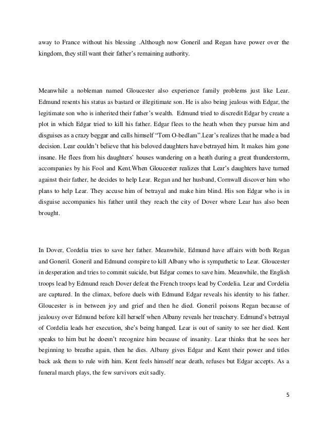 betrayal essay