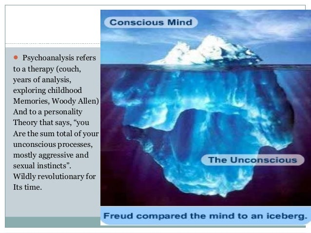 "an analysis of the sigmund freuds views on the unconscious mind The unconscious mind is still viewed by many psychological scientists as the shadow of a ""real"" conscious mind, though there now exists substantial evidence that the unconscious is not identifiably less flexible, complex, controlling, deliberative, or action-oriented than is its counterpart."