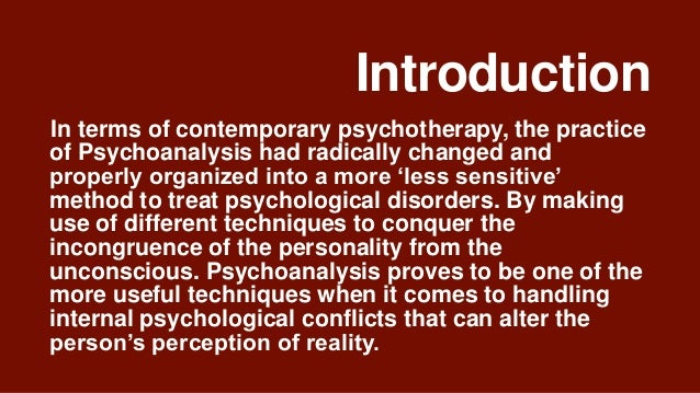 an introduction to freuds theory of human behavior This theory explained that human behavior is motivated by an inner force called  the human mind this theory was introduced by sigmund freud • sigmund.