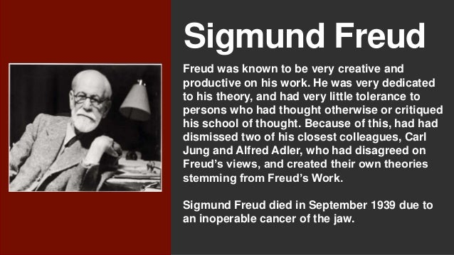 sigmund freud and the psychoanalytic therapy  sigmund freud