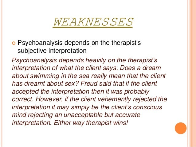 Psychosexual theory evaluation
