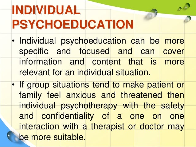 Coping with Mental Illness: A Closer Look at Psychoeducation ...