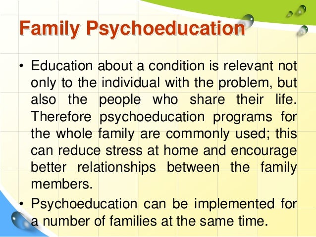 Barriers to Psychoeducation Module - YouTube