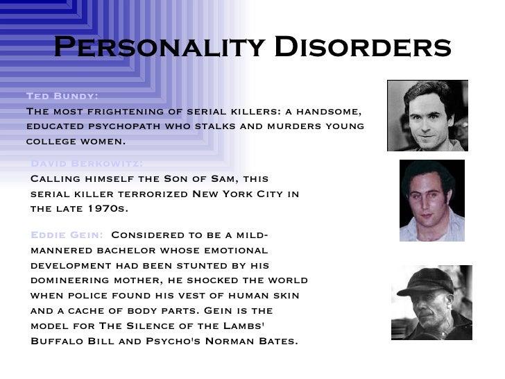 Serial killers mental illness