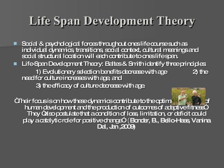 The Psychosocial Theory Of Life Span Development