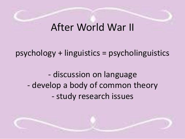 Generative research psychology study