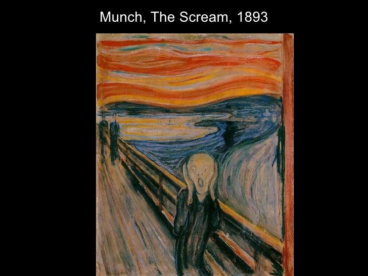 Munch, The Scream, 1893