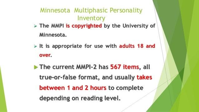 Mmpi 2 test mini mult fandeluxe Gallery