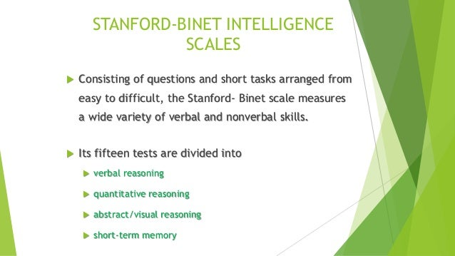 Psychological assessment and test