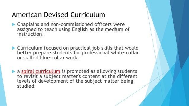 Education Curriculum Vitae