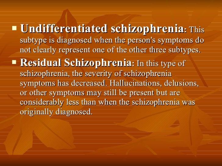 Schizophrenia Definition Psychology >> Psychological Disorder