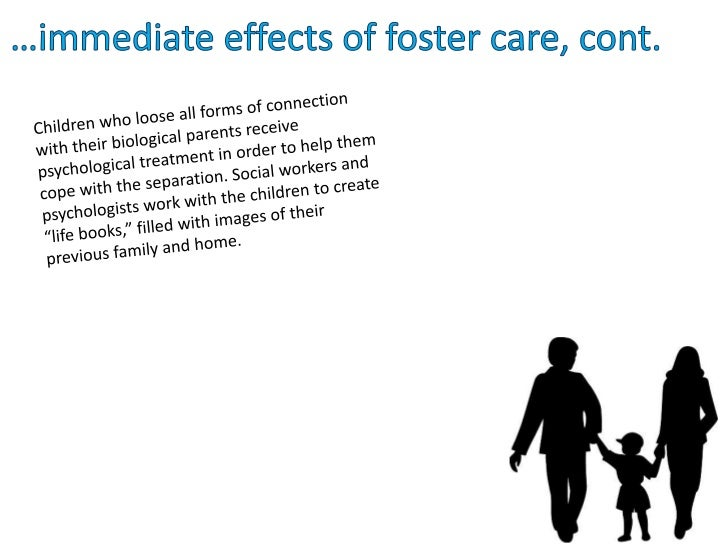 psychological effects of foster care on children