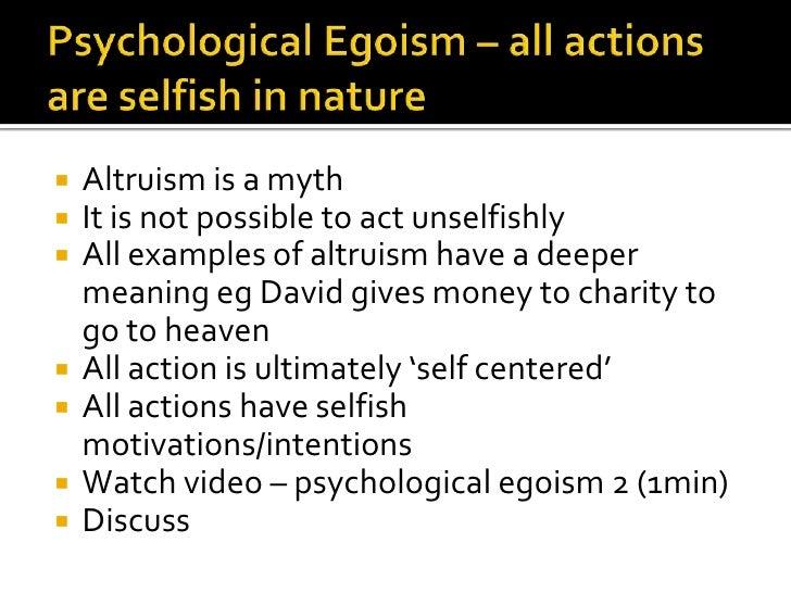 ethical egoism upsc