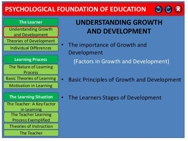 importance of foundation of education
