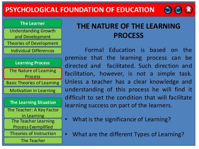 what is foundation of education pdf