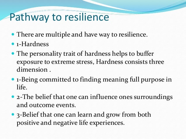 Grief and Resilience