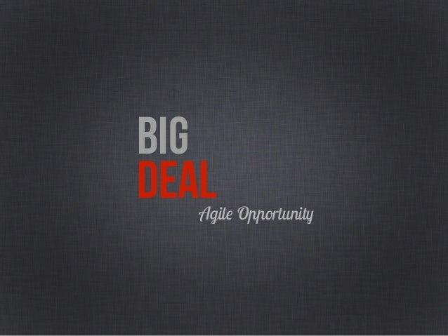 BIG DEALFull Opportunity