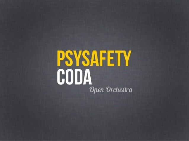 Psychological Safety - ABD19