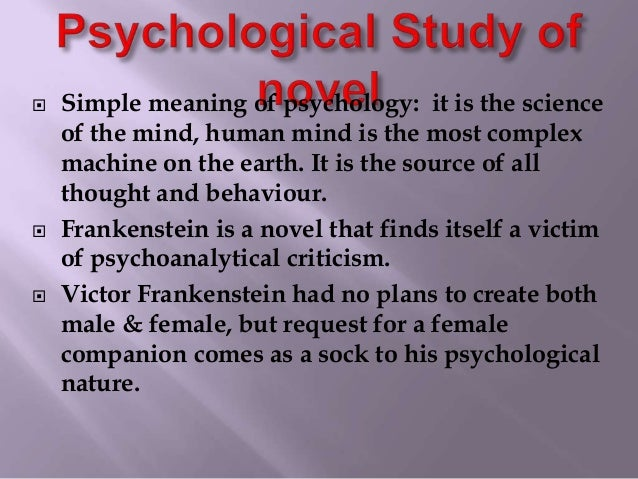 frankenstein and the definition of human Mary shelley makes full use of themes that were popular during the time she wrote frankenstein she is concerned with the use of knowledge for good or evil pur  critical essays major.