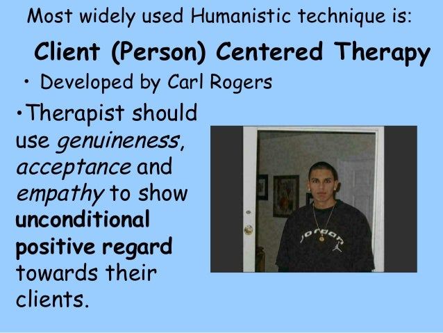 an overview of the client centered therapy developed by carl rogers Rogers: person-centered theory overview of rogers's person-centered theory although carl rogers is best known as the founder of client-centered therapy.