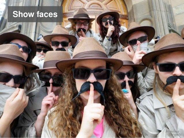 Show faces