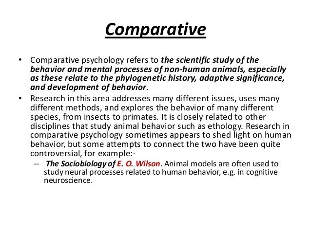 comparison of human and animal intellig Difference between animals and humans by knowledgenuts therefore humans are animals i think rationality is an social comparison of an unexplainable reality.